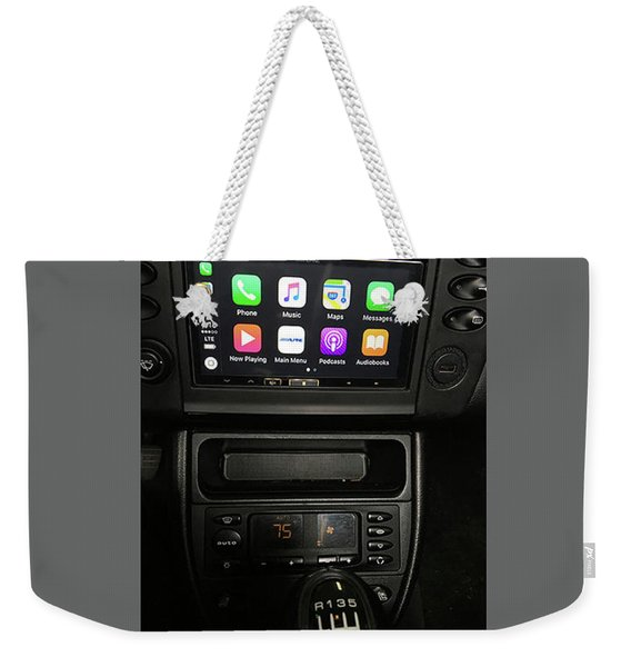 Car Audio Systems Weekender Tote Bag