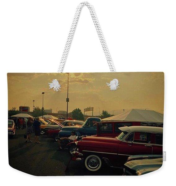 Car Show In Reno Nevada.  #cars Weekender Tote Bag