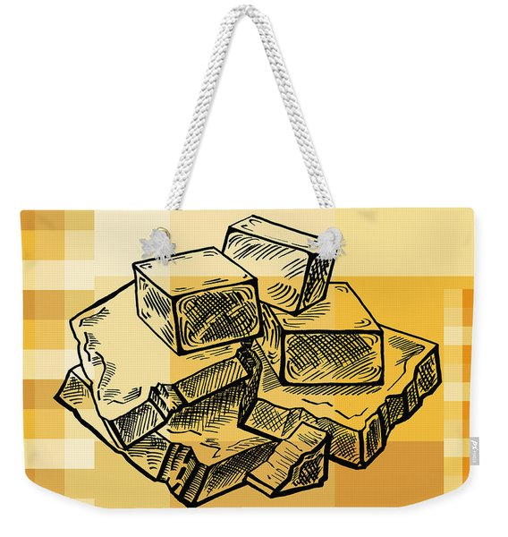 Caramel And Fudge Weekender Tote Bag