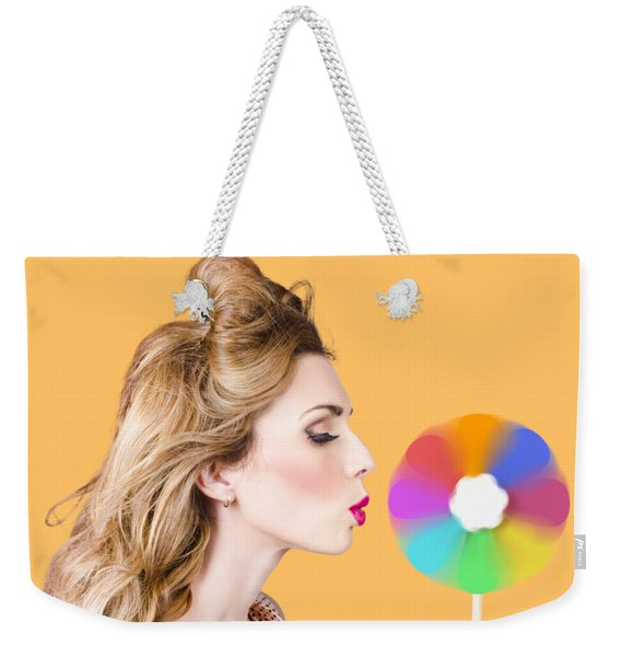 A Motion Of Colours Weekender Tote Bag