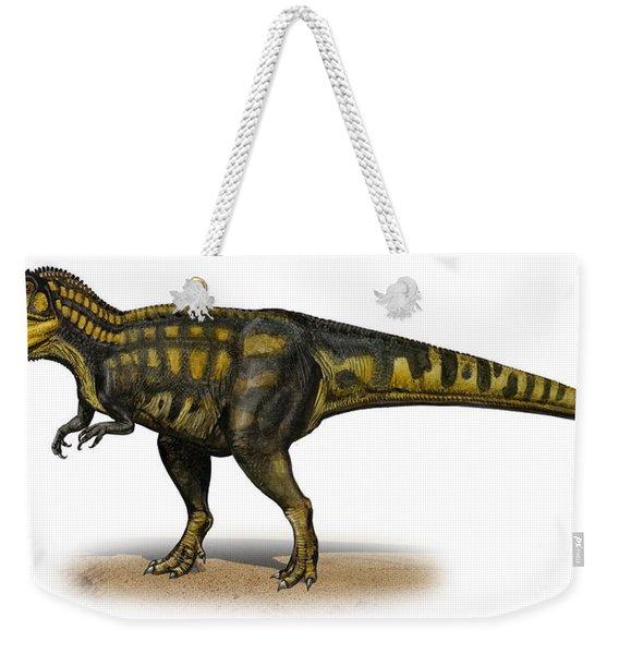 Carcharodontosaurus Iguidensis Weekender Tote Bag