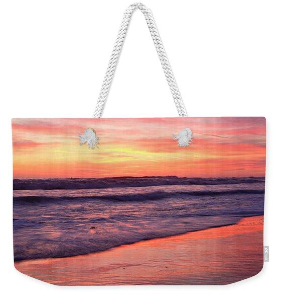 Cardiff Waves Weekender Tote Bag