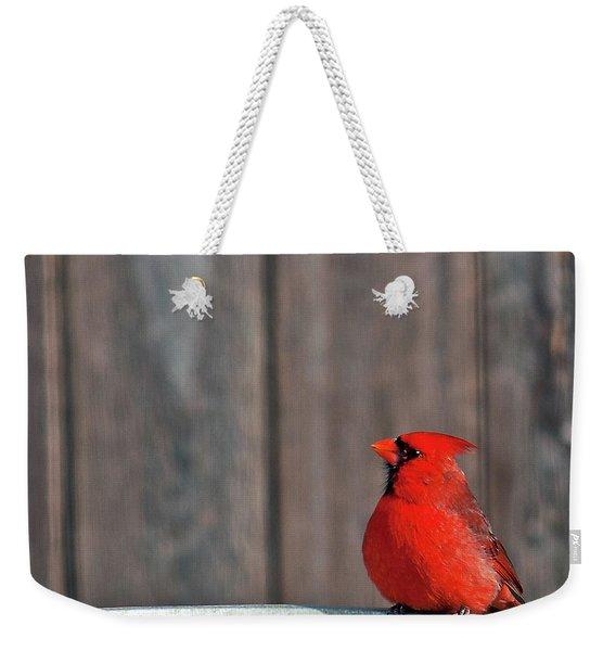 Cardinal Drinking Weekender Tote Bag