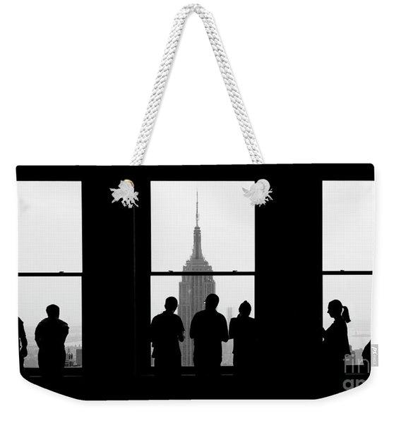 Careful Observation Weekender Tote Bag