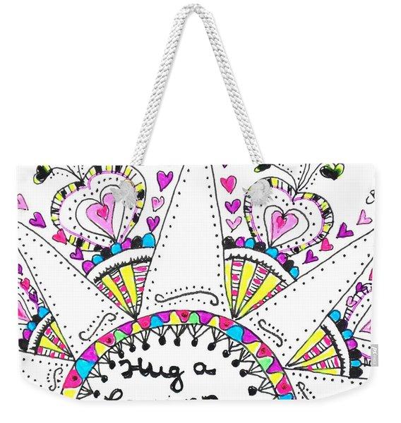 Caregiver Crown Of Hearts Weekender Tote Bag