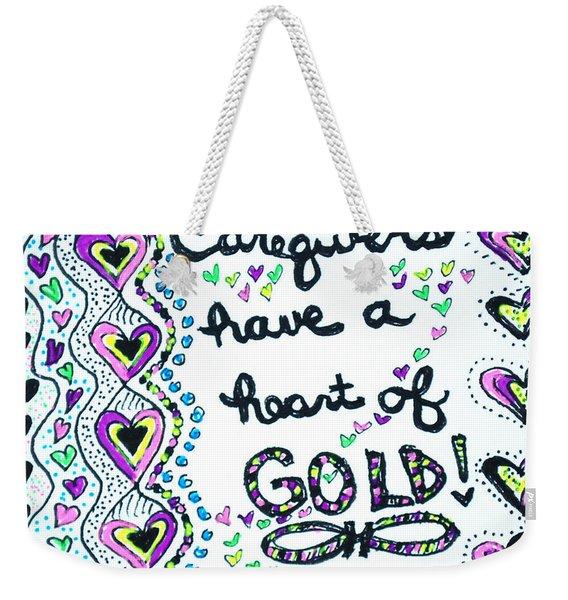 Caregiver Joy Weekender Tote Bag