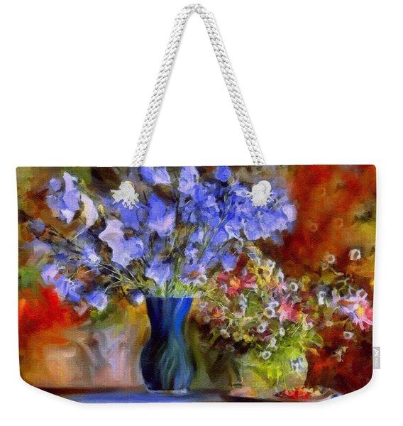 Caress Of Spring - Impressionism Weekender Tote Bag