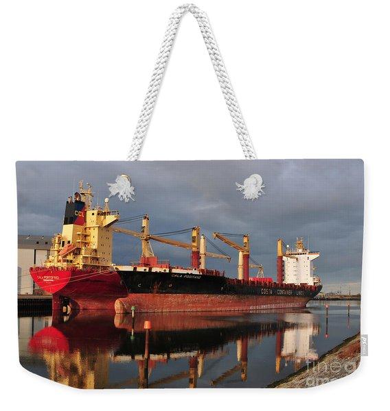 Cargo Fleet Weekender Tote Bag