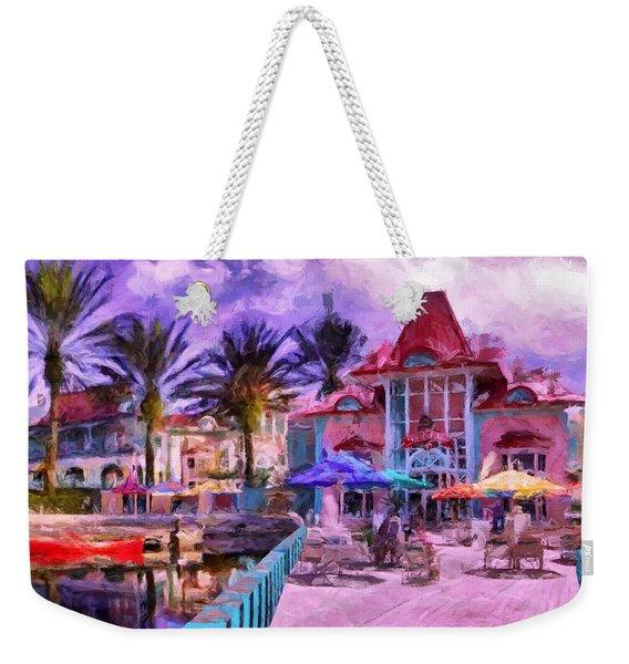 Caribbean Beach Resort Weekender Tote Bag
