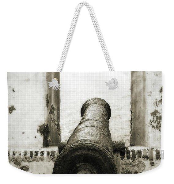 Caribbean Cannon Weekender Tote Bag
