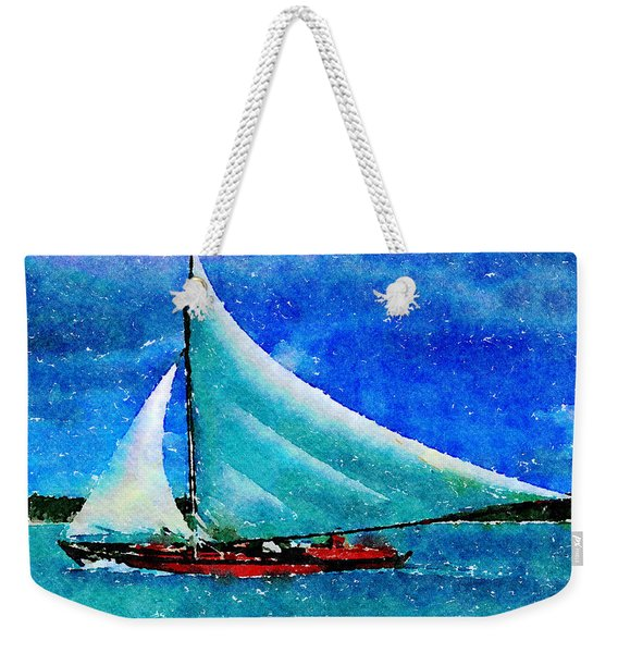 Caribbean Dream Weekender Tote Bag
