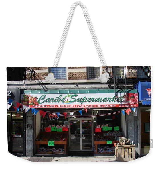 Caribe Supermarket Weekender Tote Bag