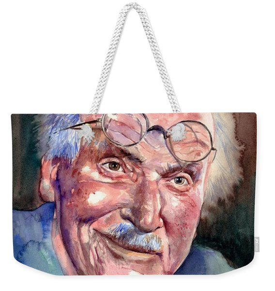 Carl Gustav Jung Portrait Weekender Tote Bag