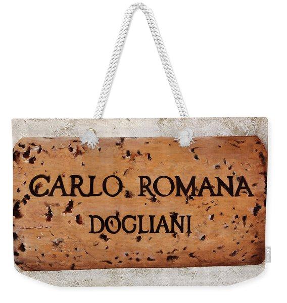Carlo Romana Dogliani Weekender Tote Bag
