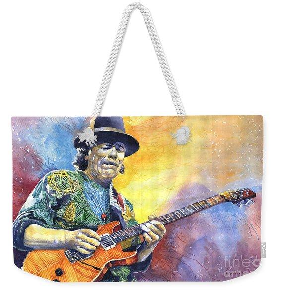 Carlos Santana Weekender Tote Bag