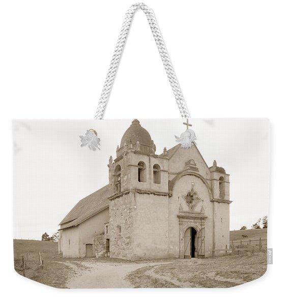 Carmel Mission South Side Circa 1915 Weekender Tote Bag
