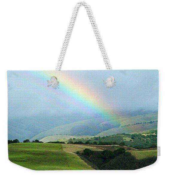 Carmel Valley Rainbow Weekender Tote Bag