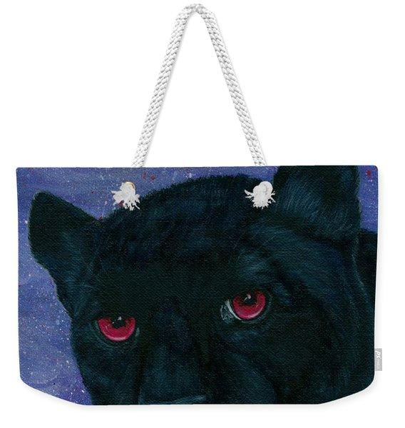 Carmilla - Black Panther Vampire Weekender Tote Bag