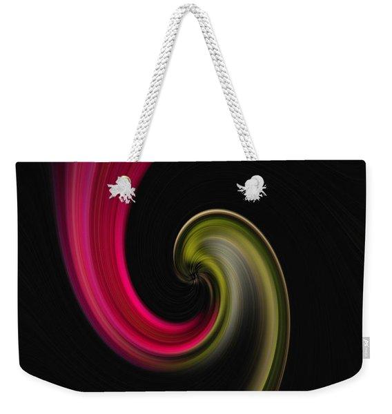 Carnation Twirl Weekender Tote Bag