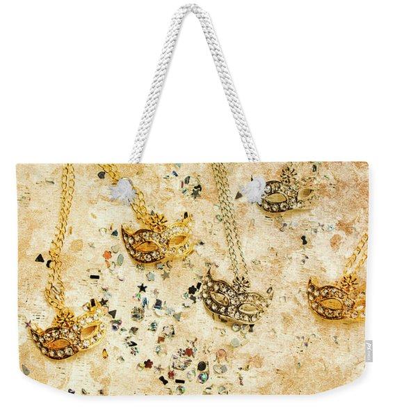 Carnival Masquerade Jewels Weekender Tote Bag