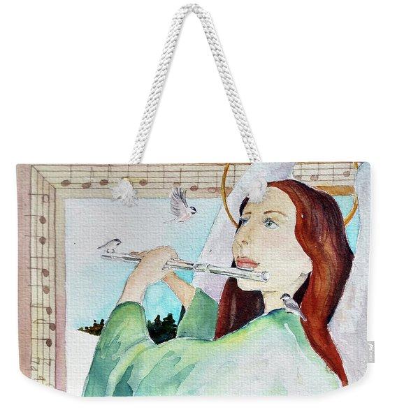 Carol Of The Birds Weekender Tote Bag