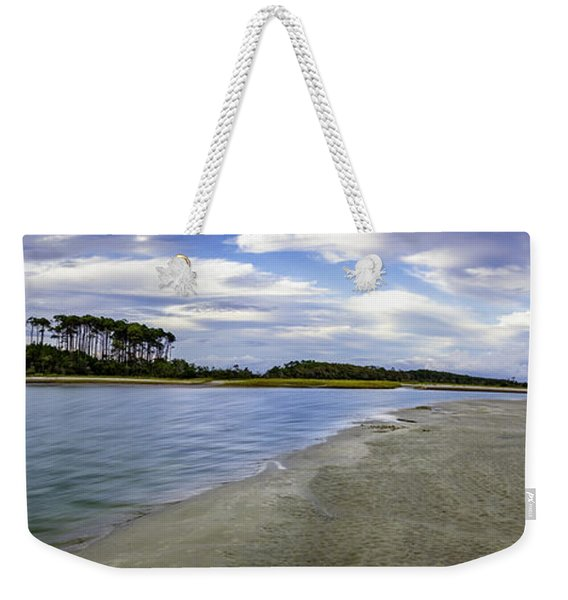 Carolina Inlet At Low Tide Weekender Tote Bag