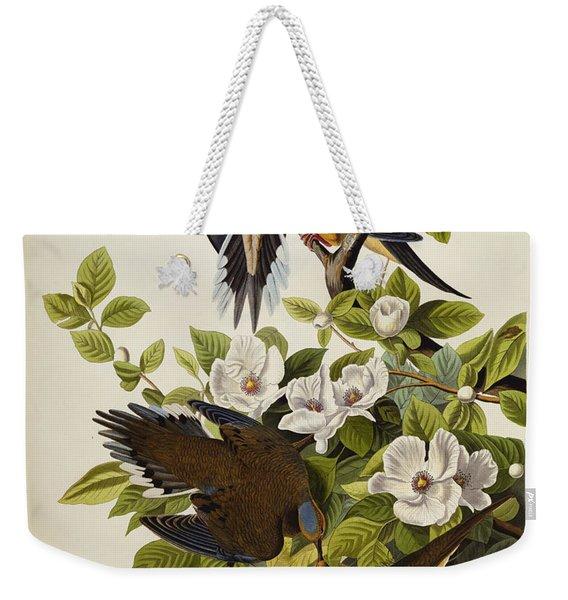 Carolina Turtledove Weekender Tote Bag