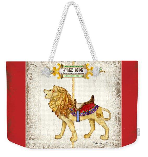 Carousel Dreams - Roaring Lion Weekender Tote Bag