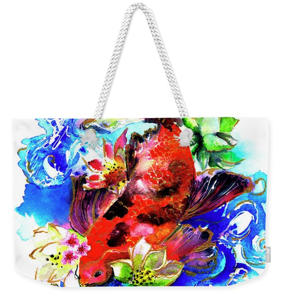 Carpa Koi Weekender Tote Bag