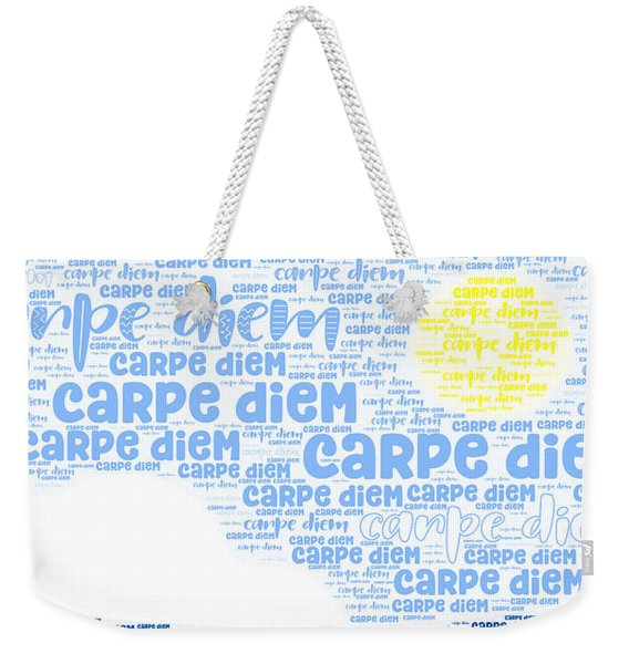Carpe Aestatem Weekender Tote Bag