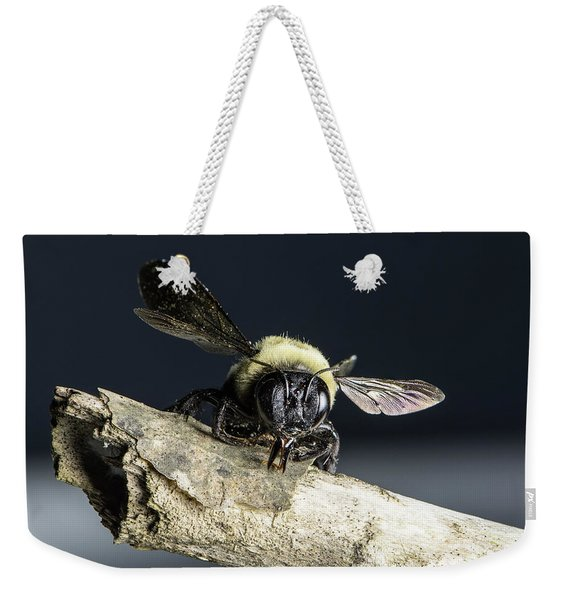 Carpenter Bee Weekender Tote Bag