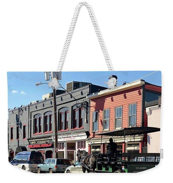Carriage Weekender Tote Bag