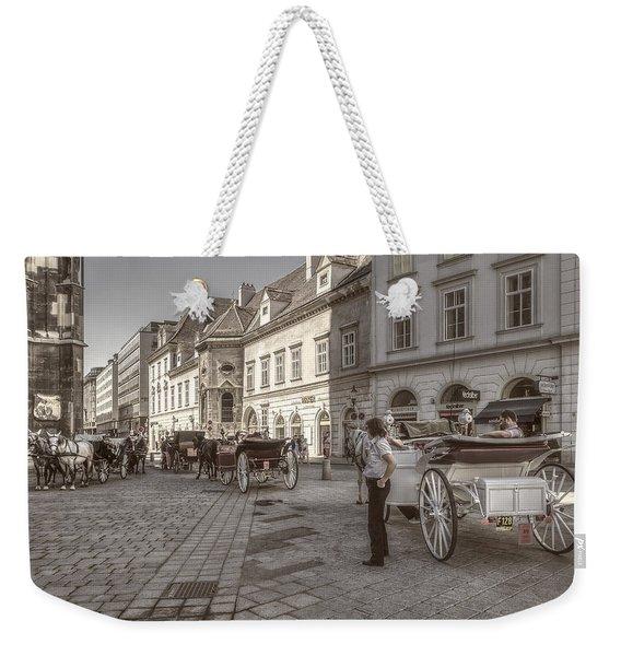 Carriages Back To Stephanplatz Weekender Tote Bag