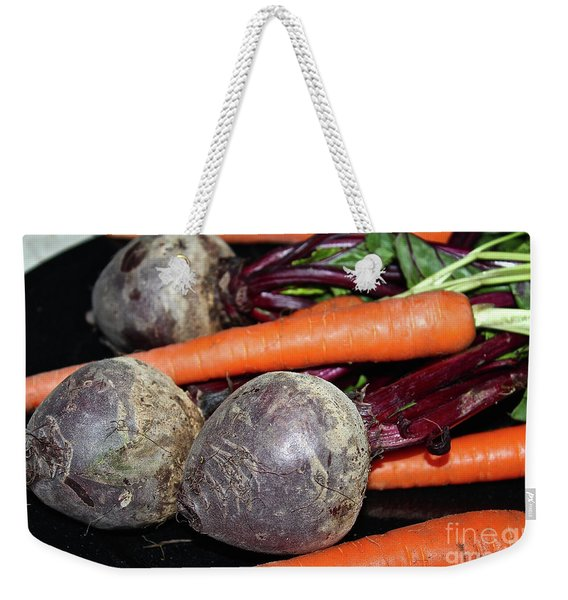 Carrots And Beets Weekender Tote Bag