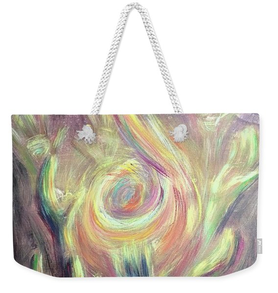 Carry The Fire Weekender Tote Bag