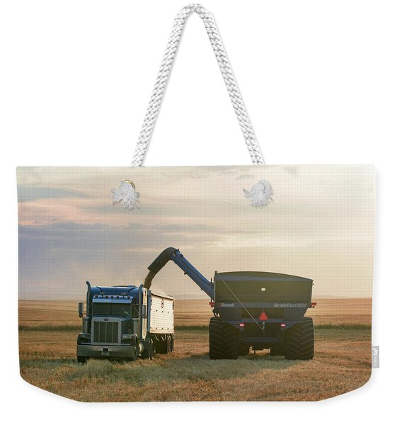 Cart Into Truck Weekender Tote Bag