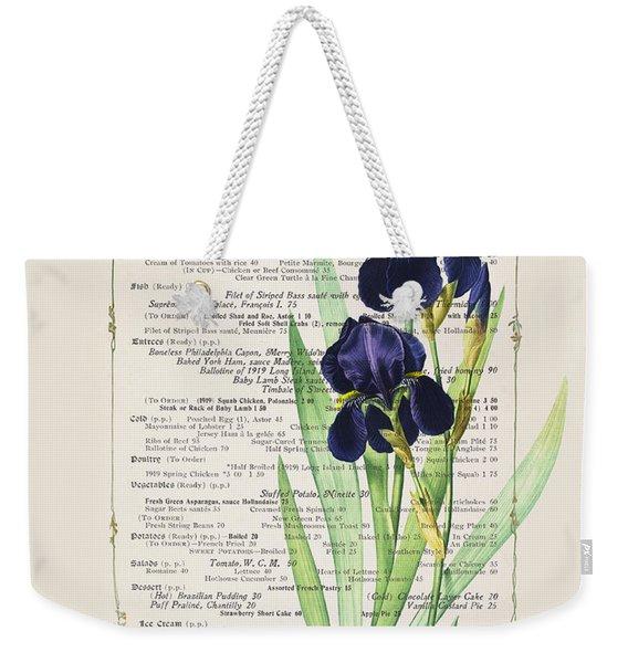 Carte Du Jour Weekender Tote Bag
