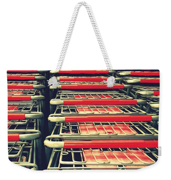 Carts Weekender Tote Bag