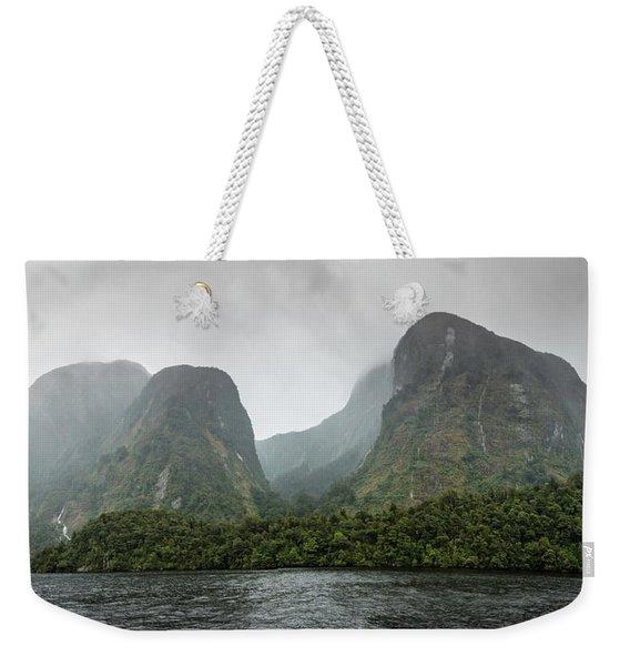 Carved By Glaciers Weekender Tote Bag