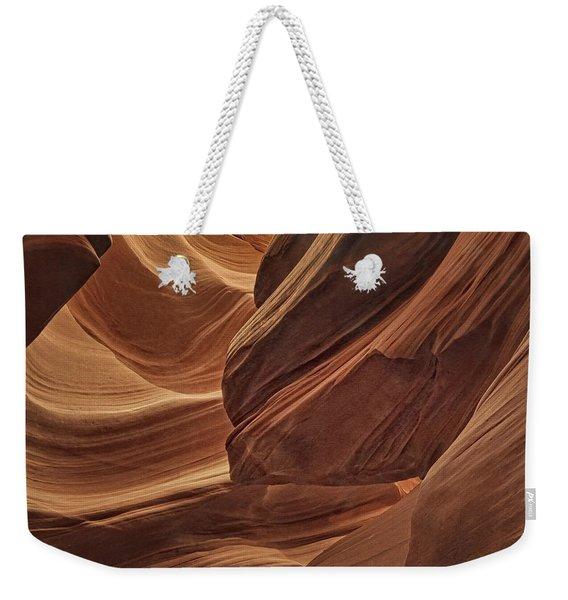 Carved By Water Dist Weekender Tote Bag