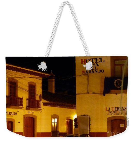 Casa Del Naranjo Weekender Tote Bag