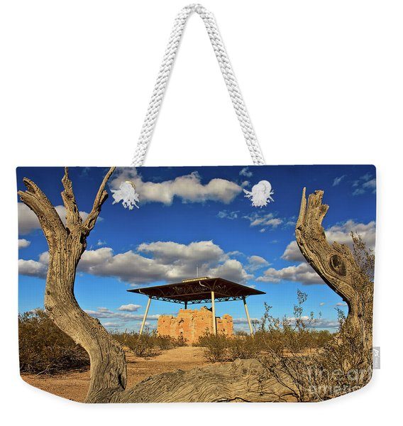 Weekender Tote Bag featuring the photograph Casa Grande Ruins National Monument by Sam Antonio Photography