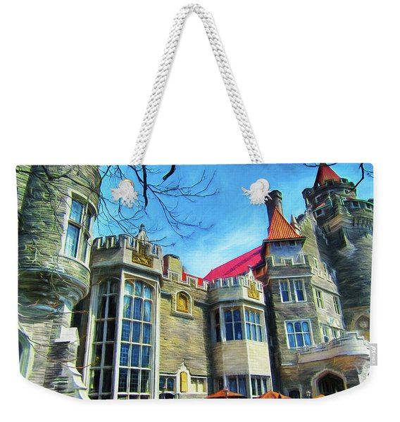 Casa Loma Series 2 Painted Y1 Weekender Tote Bag