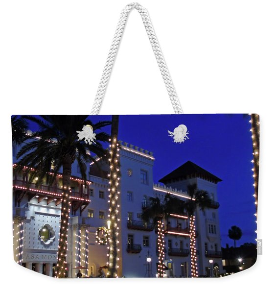 Casa Monica Inn Night Of Lights Weekender Tote Bag
