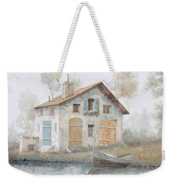 Casa Pallida Nella Nebbia Weekender Tote Bag