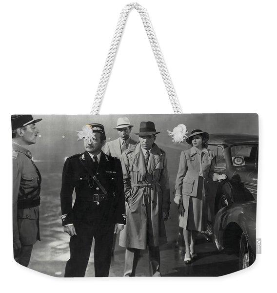 Casablanca Movie Still  1942 Weekender Tote Bag