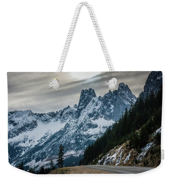 Cascade Beauty Weekender Tote Bag