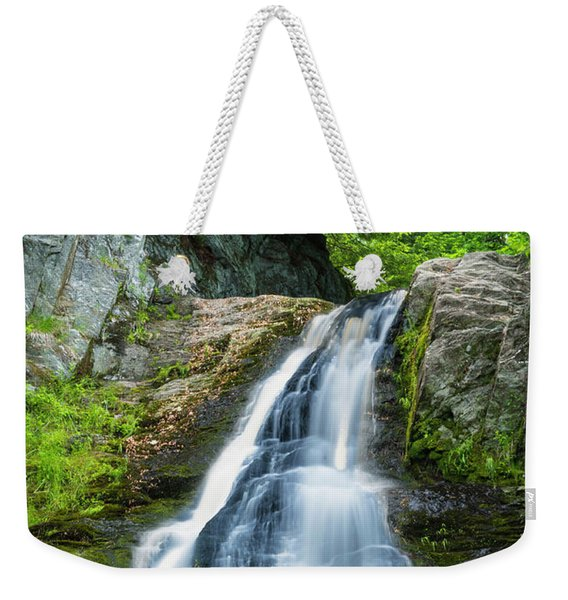 Cascade Falls In South Portland In Maine Weekender Tote Bag