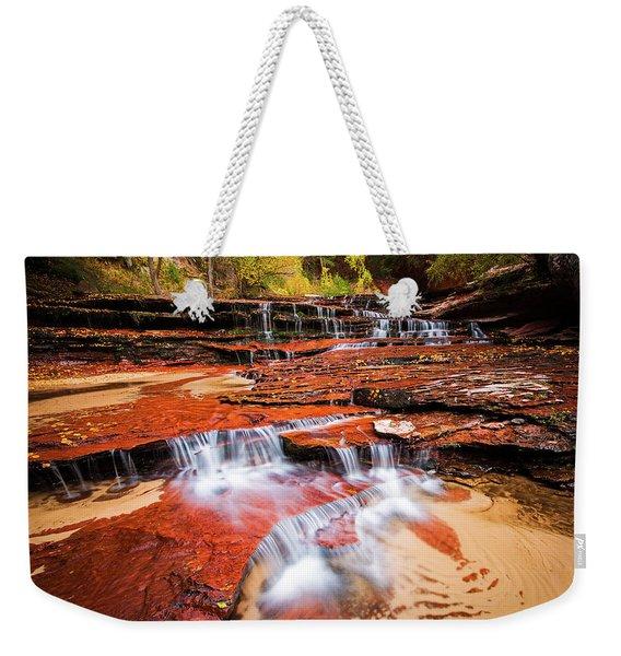 Cascades Weekender Tote Bag
