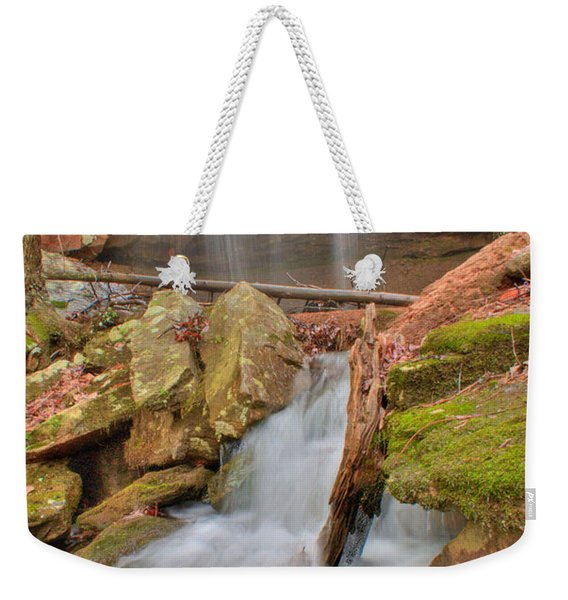 Cascading Waterfall Weekender Tote Bag